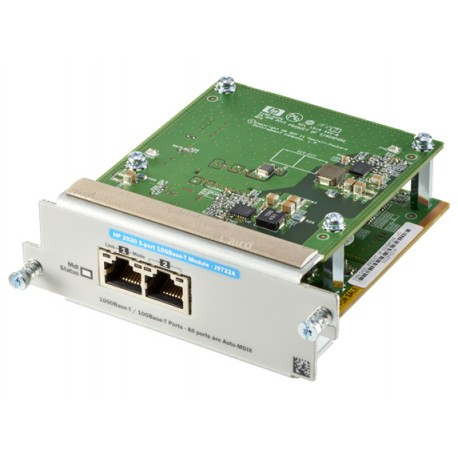 Hewlett Packard Enterprise - 2920 2-port 10GBASE-T 10 Gigabit Ethernet,Fast Ethernet,Gigabit Ethernet módulo conmut