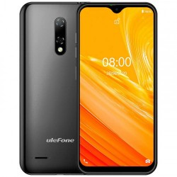 "Ulefone - Note 8 14 cm (5.5"") SIM doble Android 10.0 3G MicroUSB 2 GB 16 GB 2700 mAh Negro"