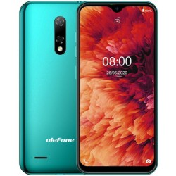 "Ulefone - Note 8 14 cm (5.5"") SIM doble Android 10.0 3G MicroUSB 2 GB 16 GB 2700 mAh Verde"