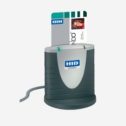 Omnikey - TPV LECTOR DNI 3121 USB BULK lector de tarjeta inteligente Interior Gris, Plata USB 2.0