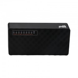 iggual - FES800 No administrado Fast Ethernet (10/100) Negro