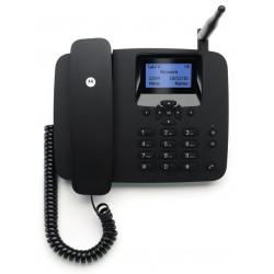 Motorola - FW200L Teléfono DECT Negro Identificador de llamadas