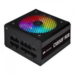 Corsair - CX Series CX650F RGB unidad de fuente de alimentación 650 W 24-pin ATX ATX Negro