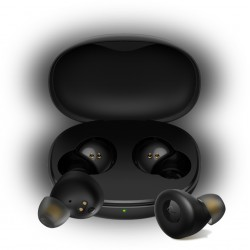 realme - Buds Q Auriculares Dentro de oído Negro Bluetooth