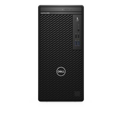 DELL - OptiPlex 3080 Intel® Core™ i3 de 10ma Generación i3-10100 8 GB DDR4-SDRAM 256 GB SSD Mini Tower Negro PC Windows 10 Pro