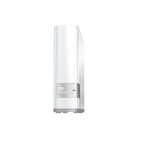 Western Digital - My Cloud 3TB Ethernet Color blanco dispositivo de almacenamiento personal en la nube