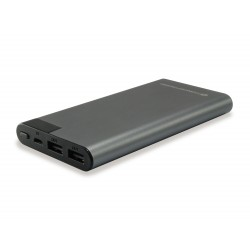 Conceptronic - AVIL02G batería externa Gris Polímero 10000 mAh