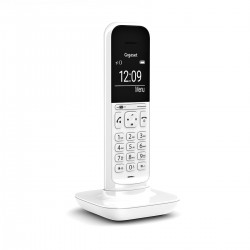 Gigaset - CL390 Teléfono DECT/analógico Blanco Identificador de llamadas