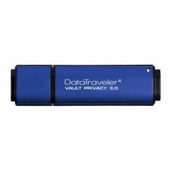 Kingston Technology - DataTraveler Vault Privacy 3.0 16GB unidad flash USB USB tipo A 3.0 (3.1 Gen 1) Azul