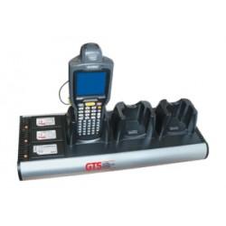 GTS - HCH-3033-CHG organizador para estación de carga Montaje de sobremesa Aluminio Aluminio, Negro