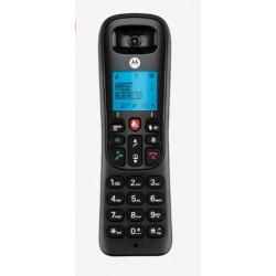 Motorola - CD4001 Teléfono DECT Negro Identificador de llamadas