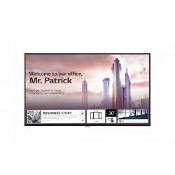 "LG - 49UH5F-H pantalla de señalización Pantalla plana para señalización digital 124,5 cm (49"") IPS 4K Ultra HD Negro Procesador"