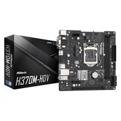Asrock - H370M-HDV placa base LGA 1151 (Zócalo H4) ATX Intel® H370