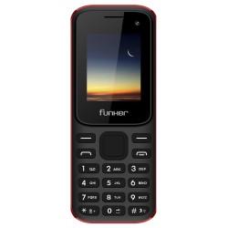 """Funker - F2 Classic 4,57 cm (1.8"""") 67 g Negro, Rojo Característica del teléfono"""