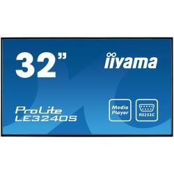 "iiyama - LE3240S-B2 pantalla de señalización Pantalla plana para señalización digital 80 cm (31.5"") VA Full HD Negro"