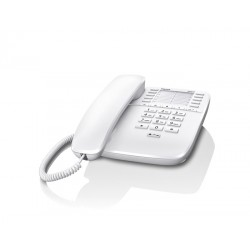 Gigaset - DA510 Teléfono analógico Blanco