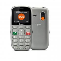 "Gigaset - GL390 5,59 cm (2.2"") 88 g Gris Teléfono para personas mayores"