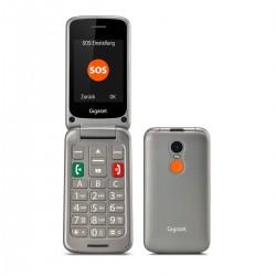 "Gigaset - GL590 7,11 cm (2.8"") 113 g Gris Teléfono para personas mayores"