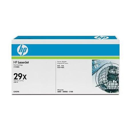 HP - Cartucho de tóner original LaserJet 29X de alta capacidad negro