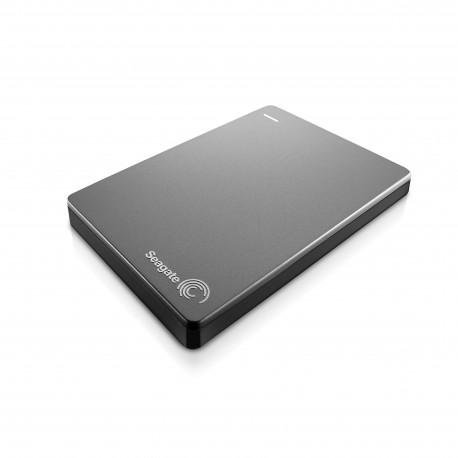 Seagate - Backup Plus Slim Portable 2TB 2000GB Plata disco duro externo
