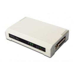 Digitus - DN-13006-1 servidor de impresión LAN Ethernet Blanco