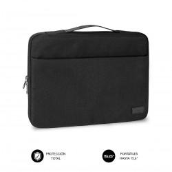 "SUBBLIM - Funda Ordenador Elegant Laptop Sleeve 15,6"" Black"