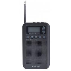 Nevir - NVR-135 D GRIS radio Personal Digital