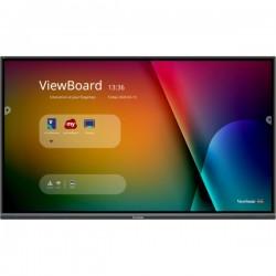 "Viewsonic - IFP8650-3 pizarra y accesorios interactivos 2,18 m (86"") 3840 x 2160 Pixeles Pantalla táctil Negro"