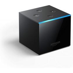 Amazon - Fire TV Cube reproductor multimedia y grabador de sonido Negro 4K Ultra HD 16 GB 7.1 canales Wifi