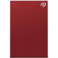 Seagate - One Touch disco duro externo 5000 GB Rojo