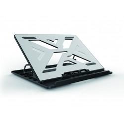 """Conceptronic - THANA ERGO S, Laptop Cooling Stand 39,6 cm (15.6"""") Soporte para ordenador portátil Gris"""