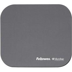 Fellowes - Microban Mouse Pad Silver Plata