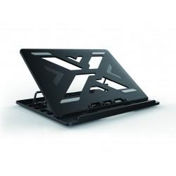 "Conceptronic - ERGO Laptop Cooling Stand 39,6 cm (15.6"") Soporte para ordenador portátil Negro"