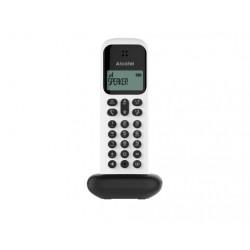 Alcatel - D285 DUO Identificador de llamadas Negro, Blanco
