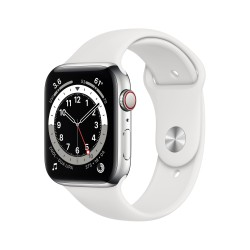 Apple - Watch Series 6 44 mm OLED 4G Plata GPS (satélite)
