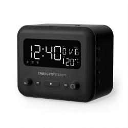 Energy Sistem - Clock Speaker 2 Reloj Analógica Negro