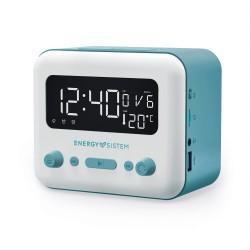 Energy Sistem - Clock Speaker 2 Reloj Digital Azul, Blanco