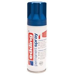 Edding - Permanent Spray pintura acrílica 200 ml Azul Bote de spray