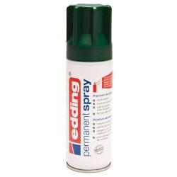 Edding - Permanent Spray pintura acrílica 200 ml Verde Bote de spray