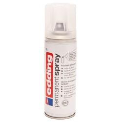 Edding - Permanent Spray pintura acrílica 200 ml Incoloro Bote de spray - 5200-994