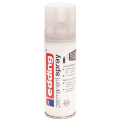 Edding - Permanent Spray pintura acrílica 200 ml Gris Bote de spray