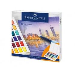 Faber-Castell - 169748 pintura a base de agua Multi Paleta 48 pieza(s)