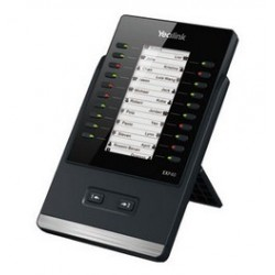 Yealink - EXP40 IP módulo adicional (add-on) Negro 20 botones