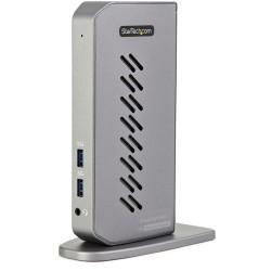 StarTech.com - Dock USB-C o USB-A - Docking Station Universal Híbrido USB 3.0 para Ordenador Portátil USB Tipo C o USB-A - para