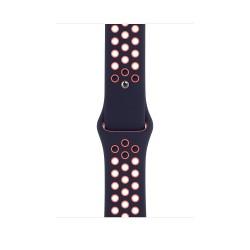 Apple - MG3X3ZM/A accesorio de smartwatch Grupo de rock Negro, Naranja Fluoroelastómero