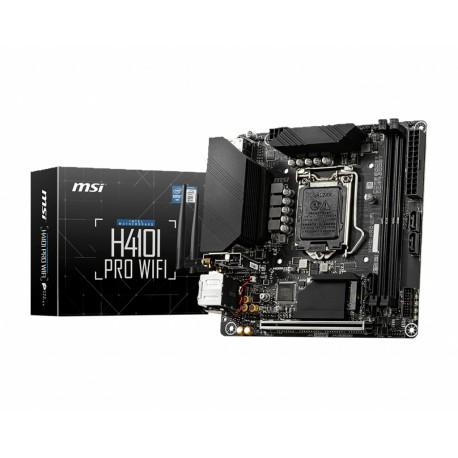 MSI - H410I Pro Wifi Intel H410 LGA 1200 mini ITX - H410I PRO WIFI
