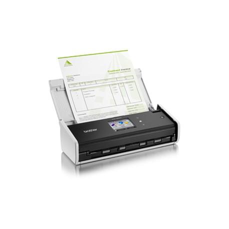 Brother - ADS-1600W Escáner con alimentador automático de documentos (ADF) 600 x 600DPI A4 Negro, Blanco escaner