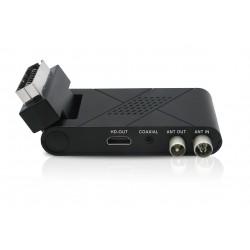 Denver - DTB-143 descodificador para televisor Terrestre Full HD Negro