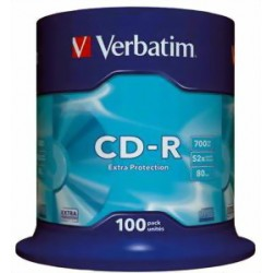 Verbatim - CD-R Extra Protection 700 MB 100 pieza(s)