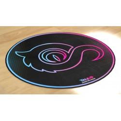 TALIUS - Floorpad 100 Alfombra circular gaming